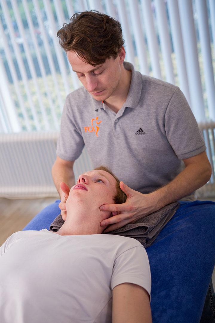 Kaakfysiotherapie